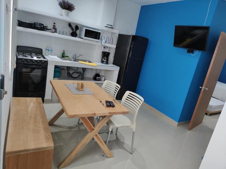 Azul departamento 34 m2 Nuevo