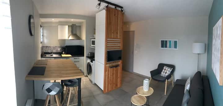 Charmant appartement t2 37m² refait à neuf