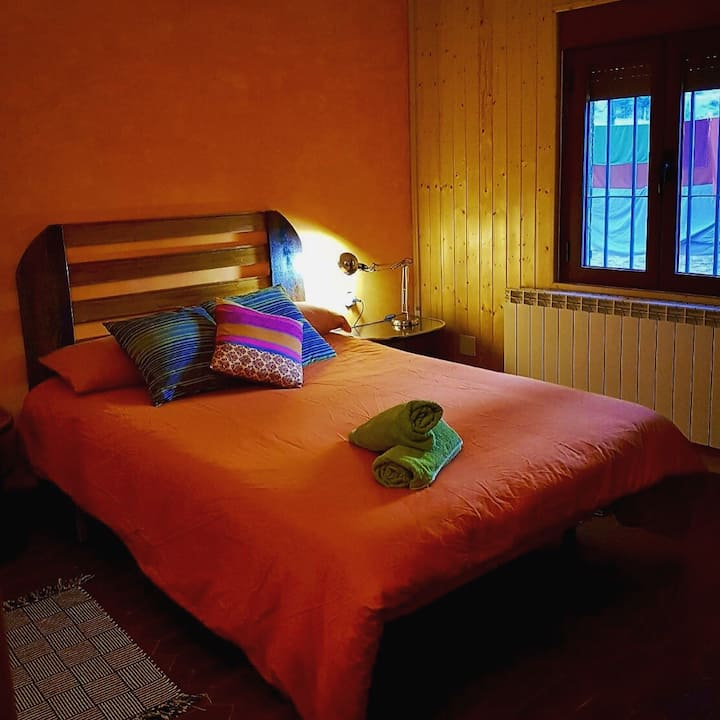 Cousy double room in Albarracin