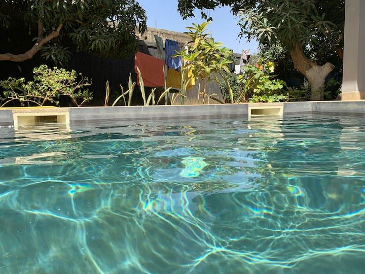 Villa Sénégal dans les manguiers