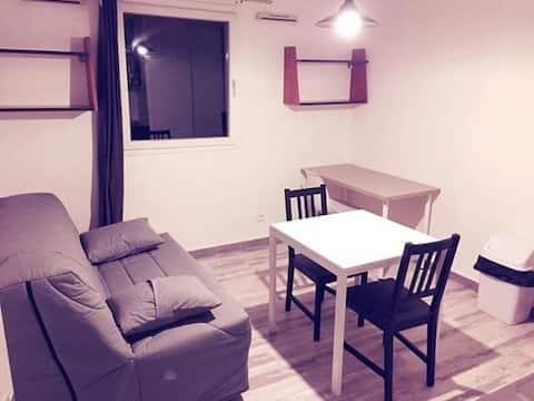 Apartamento estudio ❤cerca del centro