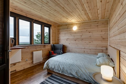 Cosy cabin near Seljalandsfoss - Weekly discount
