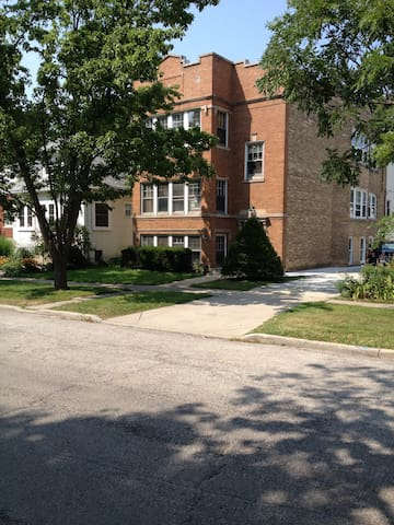 Cozy 3 bd apt in central Evanston - Evanston - Pis