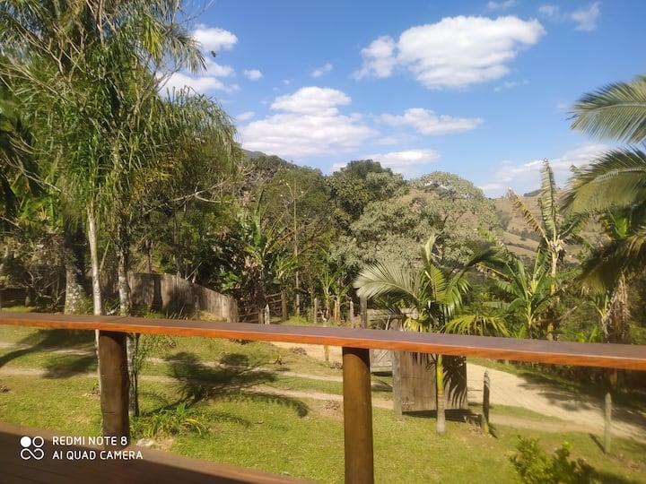 Casa dos Amigos - Vista e Cachoeira
