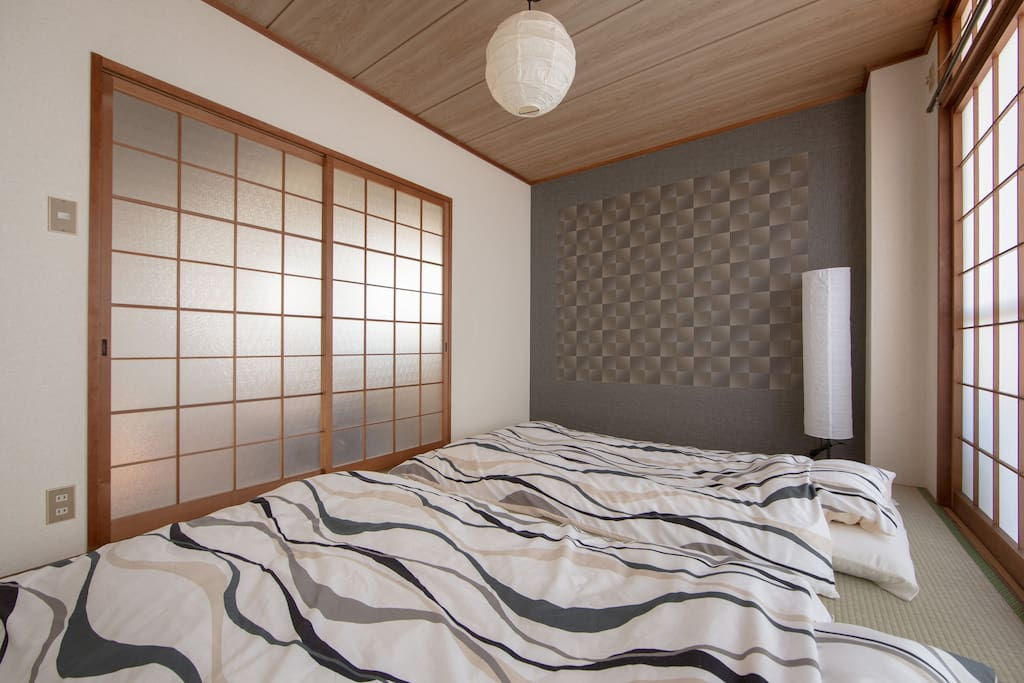 bed room with Tatami