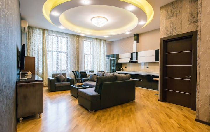 Spacious Apartment in the Heart of Baku