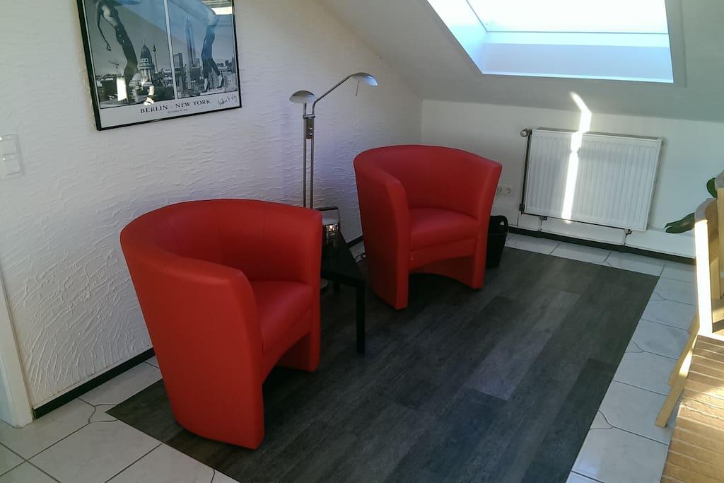 stylisches 2 5 zimmer dachstudio in mannheim wohnungen zur miete in mannheim baden. Black Bedroom Furniture Sets. Home Design Ideas