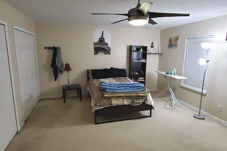 Large Cozy Bedroom