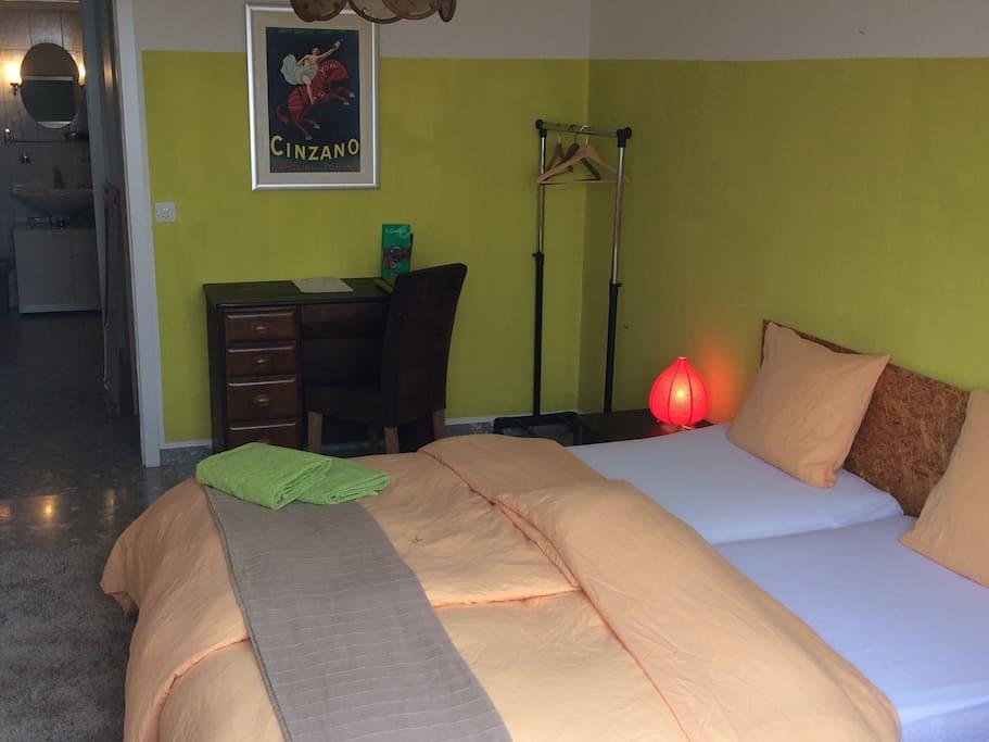 Ze House bedroom #1