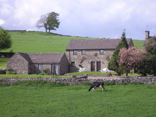 Thors cottage - magnificent views - Derbyshire - Casa