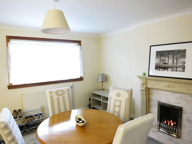 Cosy vegetarian house, central + free parking - Glasgow - House