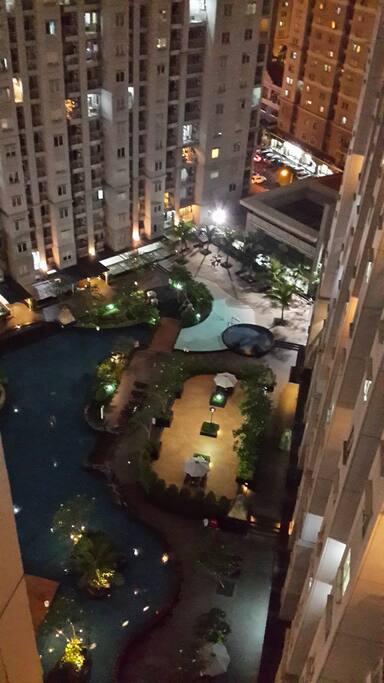 View dari kamar balcony