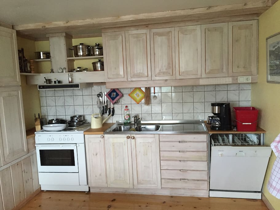 Utrustat kök
