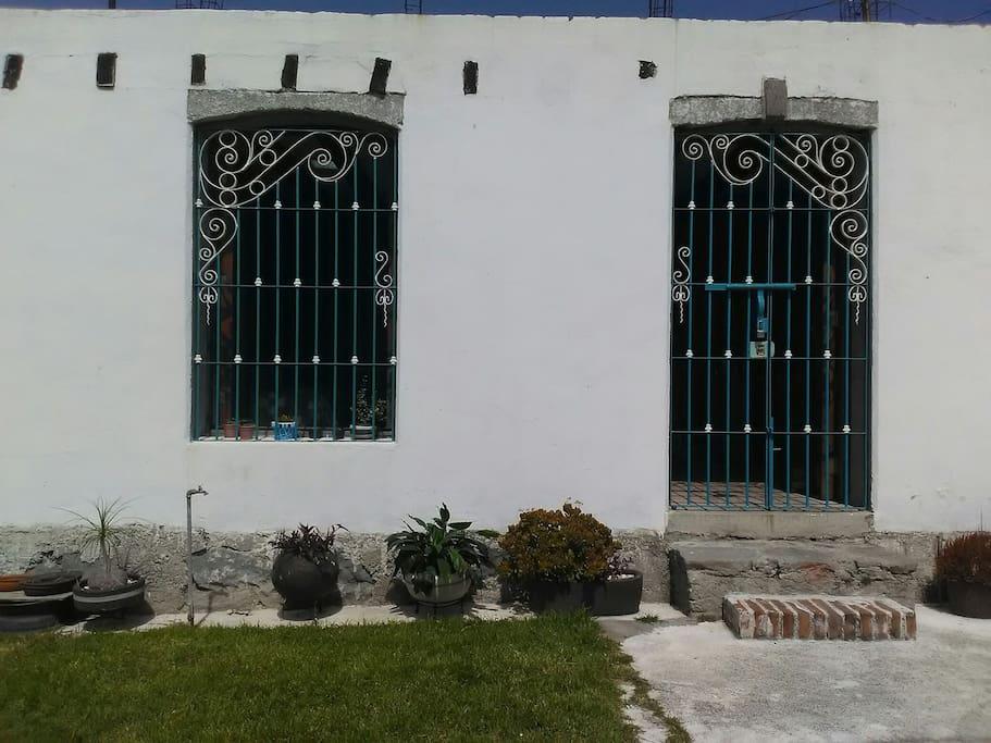 fachada del loft
