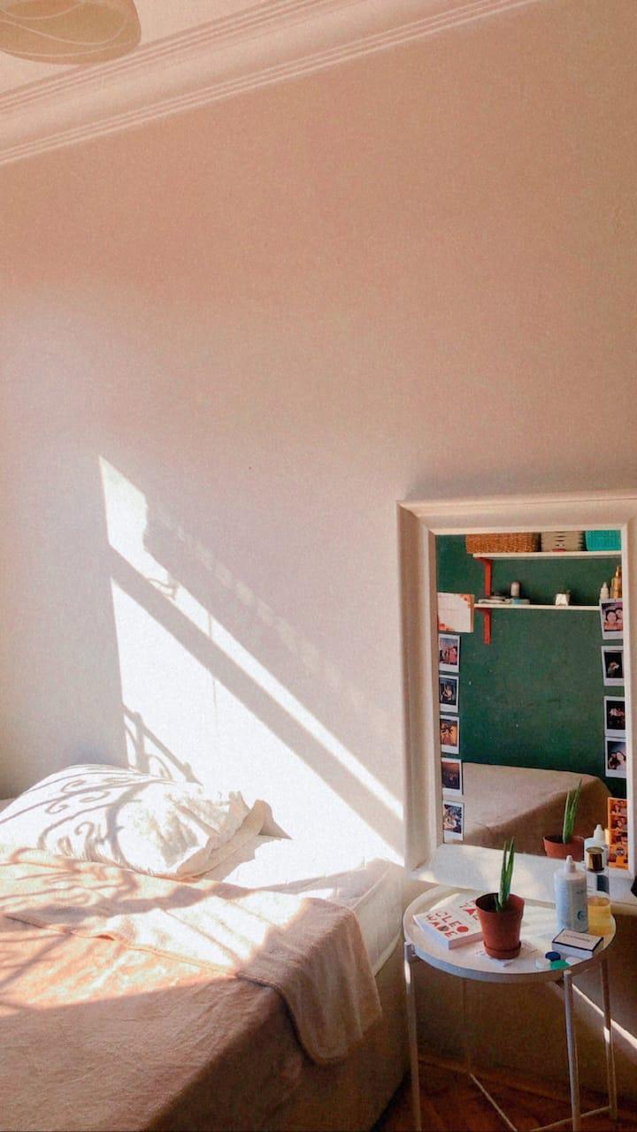 Cozy sunny room