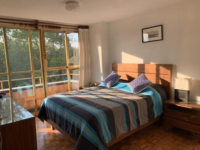 Cozy apartment in Alamos, easy to reach dowtown
