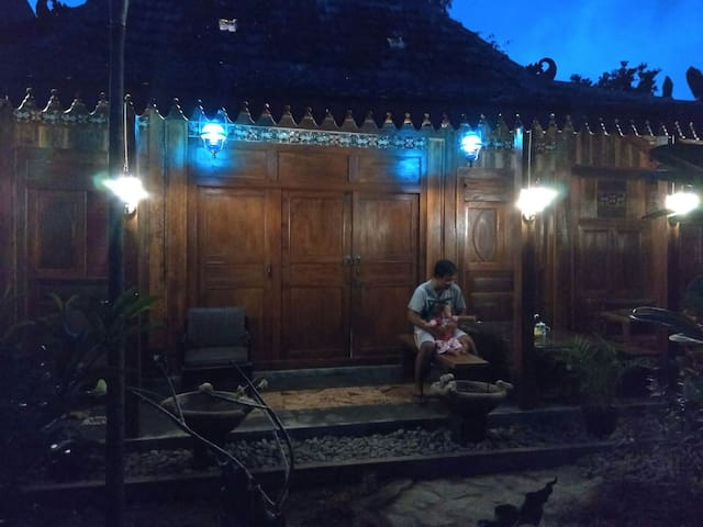 Homestay godean omah ndeso Yogyakarta
