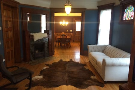 Blue Room (Queen Bed) - Minneapolis - Rumah