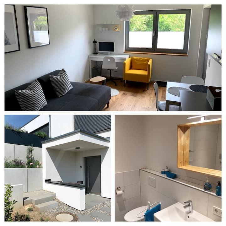 Stylish 1-room apartment in Biberach
