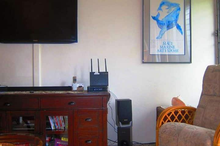 Naka-istilong isa bedroom apartment