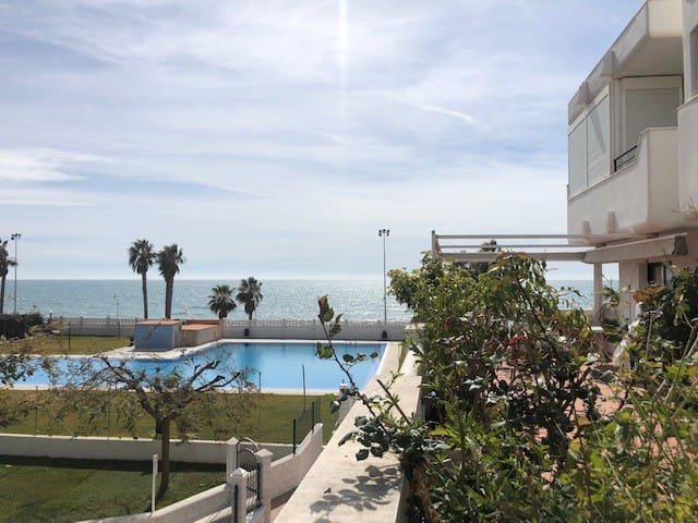 Superb apartment 50 meters from the beach