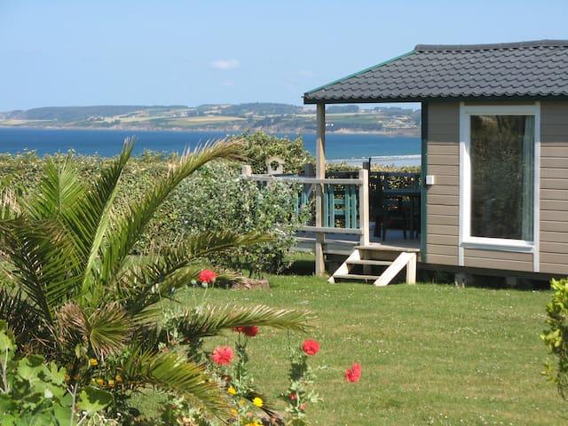 location bretagne  avec superbe vue sur mer  11 - Plomodiern - Bungalo