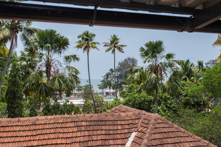 Arabian Sea View from Upper Deck - Fresh air, freshness.