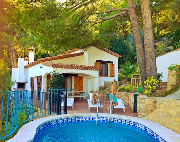 Cosy house & private pool & seaview - Begur - Huis