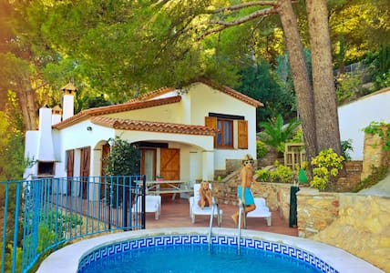 Cosy house & private pool & seaview - Begur