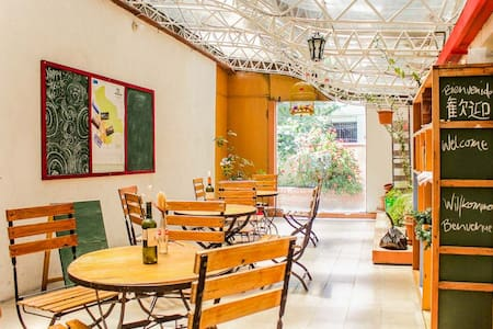 Cozy room with bright window front - La Paz - Guesthouse
