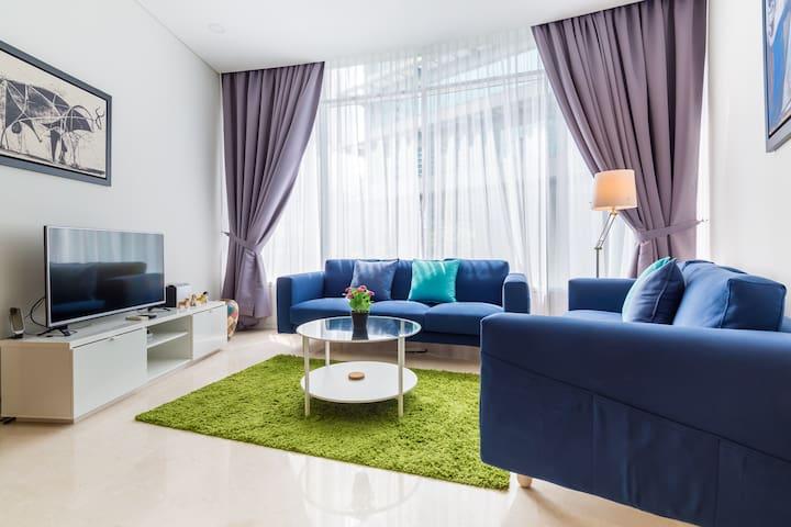 Modern & Comfortable 2BR Apartment 5 min to KLCC