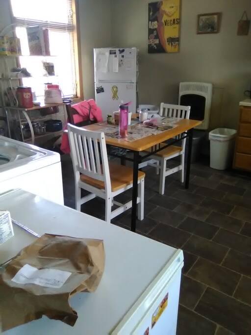 Kitchen/dinner room