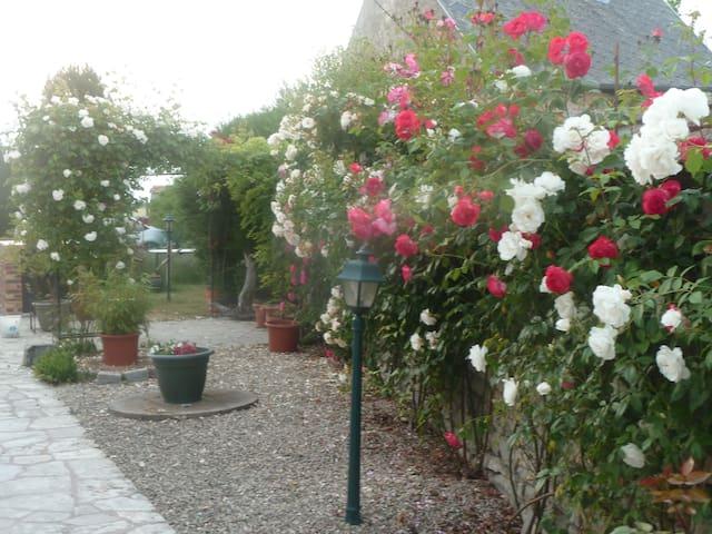 chambres en pleine nature au calme - Fresnay-l'Évêque - ที่พักพร้อมอาหารเช้า