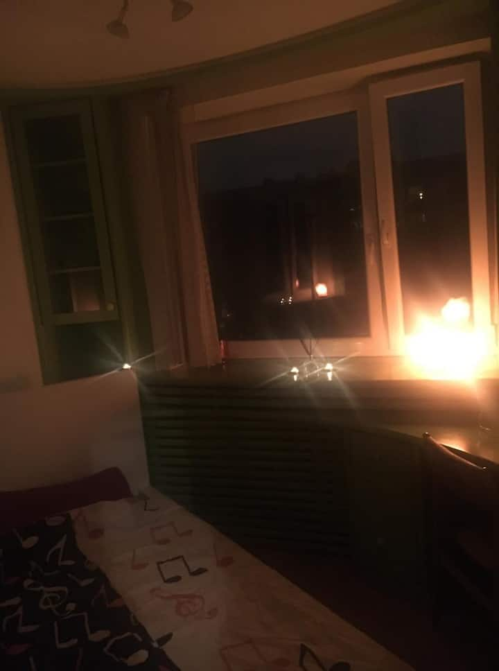 Cozy room in City Center (Cleaning fee included!)