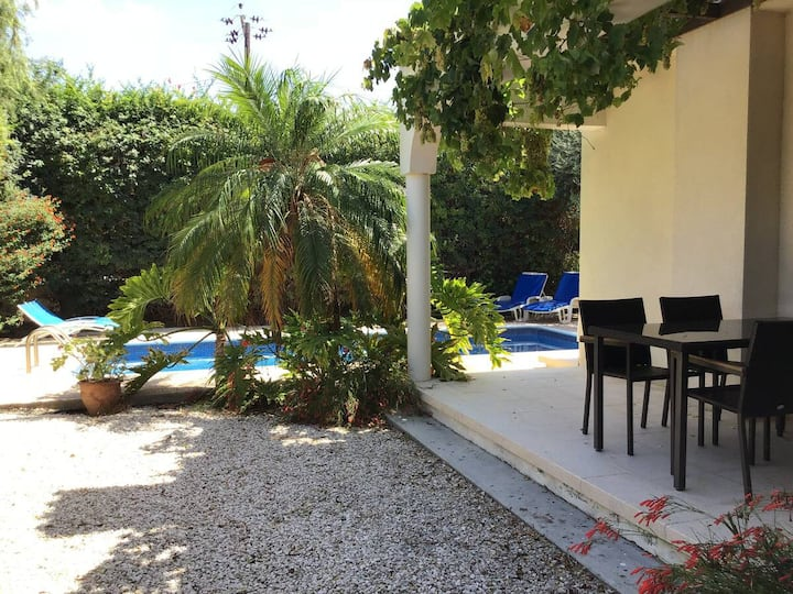 Two bedroom villa with high degree of privacy