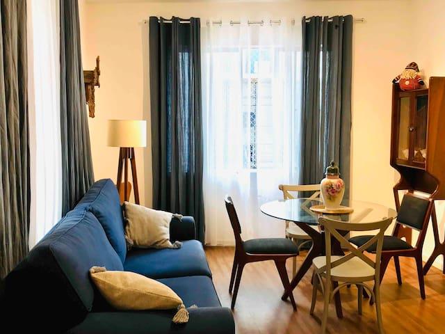 Apartamento 2 Quartos,100m DA PRAIA CENTRAL❤️