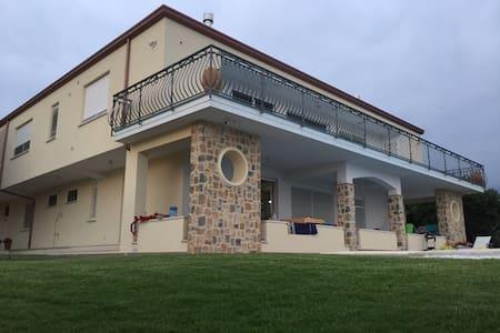 Spectacular Panorama Villa over Sapri Vibonati - Vibonati - Pis