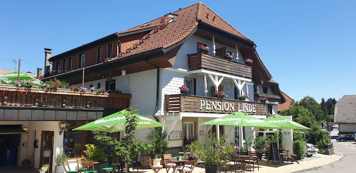 Pension Linde, (Höchenschwand), DZ Zimmer Nr.2
