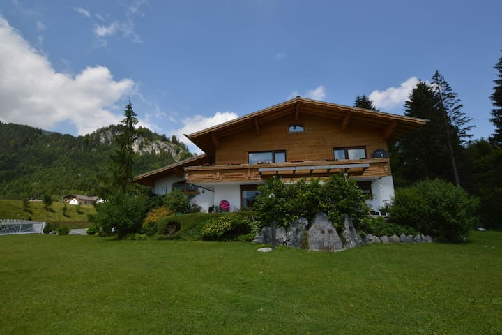 Nice holiday residence in Wängle beautifully located in a wonderful environment.