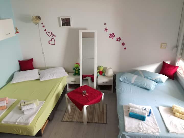 Small and sunny apartment in Rijeka