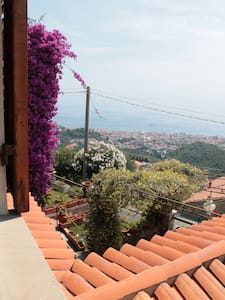 Double room, private bathroom, Moglio-Alassio - アラッシオ