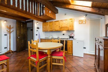 Appartamento vista Monte Bianco - La Salle