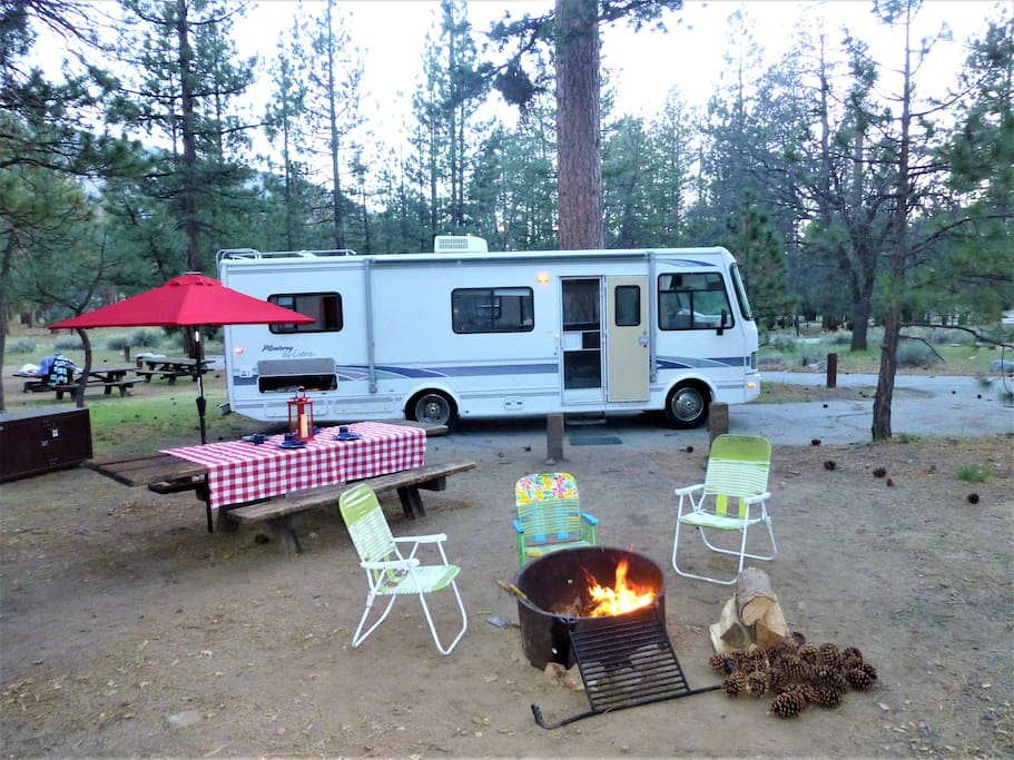 Serrano Campground Big Bear Lake