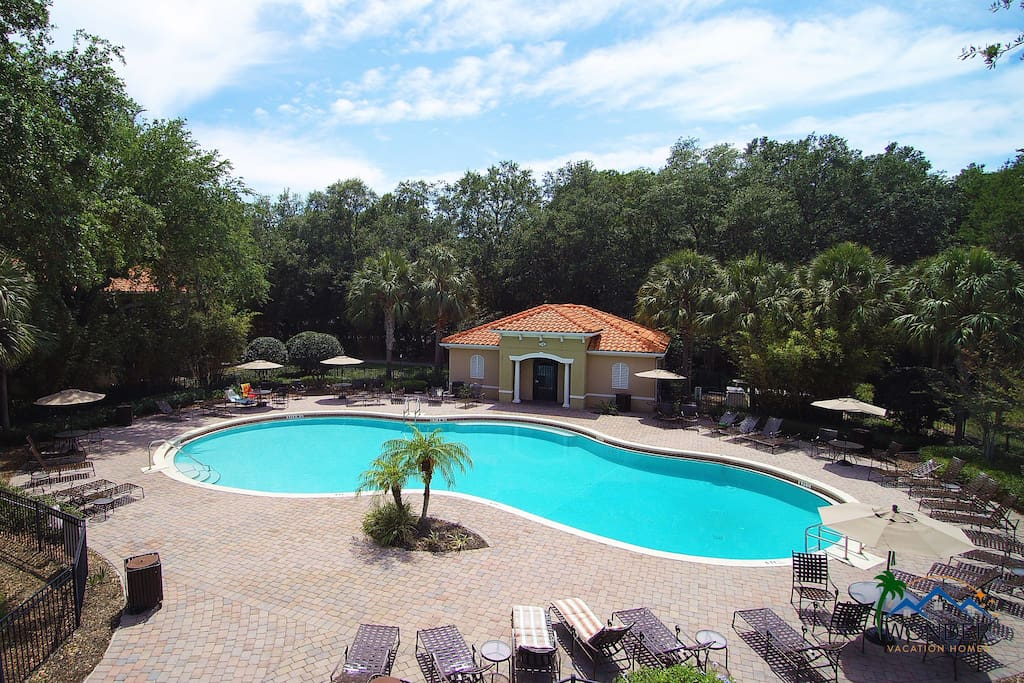 Compass Bay Resort Heated Pool Overview