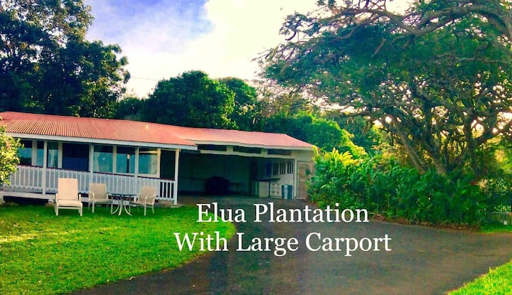 5 ⭐️ Old Hawaii's Rustic Charm - Elua Plantation