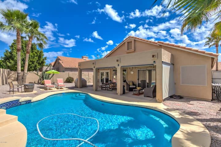 Golf Resort retreat with private pool!
