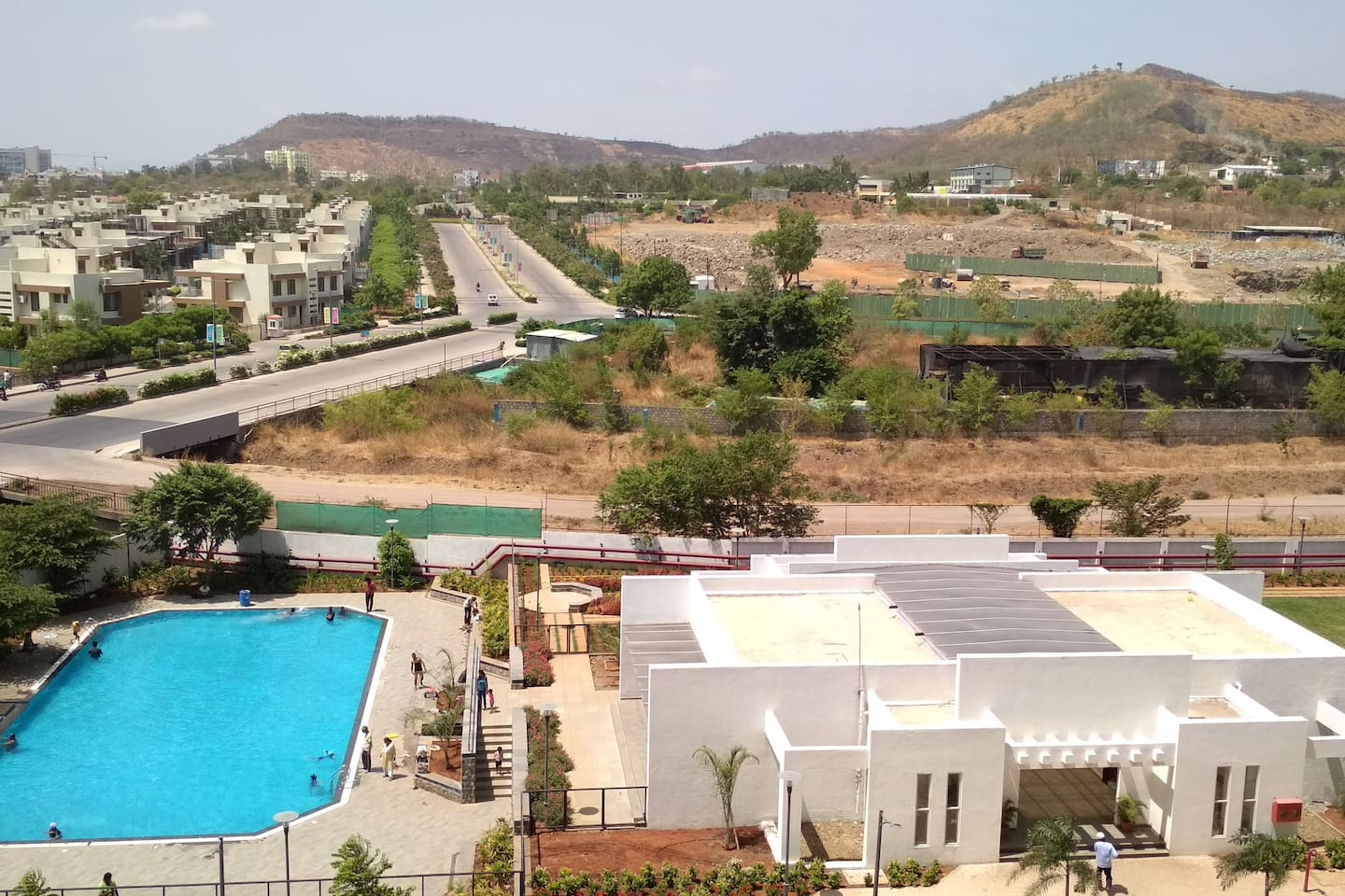 Swimming pool, Amenities and Scenery view from Balcony