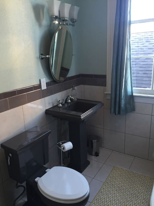 Bathroom with great natural light