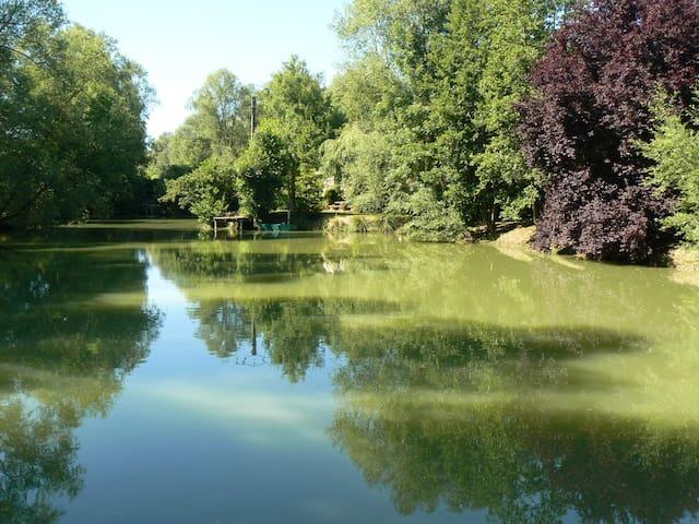 la maison de l'étang - Sampigny