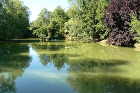 la maison de l'étang - Sampigny - Hus